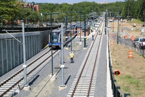 Light Rail Connects Us: First Train Arrives on Campus